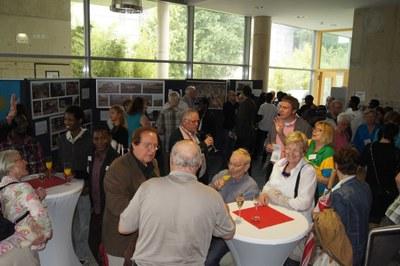 Besucher des Ruanda-Tages in Koblenz