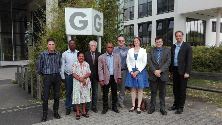 Neuer Doppelabschluss geplant: Delegation aus Ruanda und Madagaskar besucht die Universität Koblenz-Landau