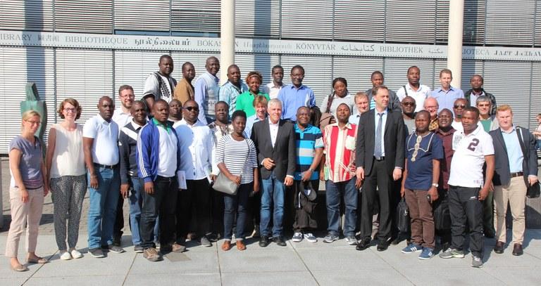 Zentralafrikanische Studienreise macht Station an der Universität in Koblenz
