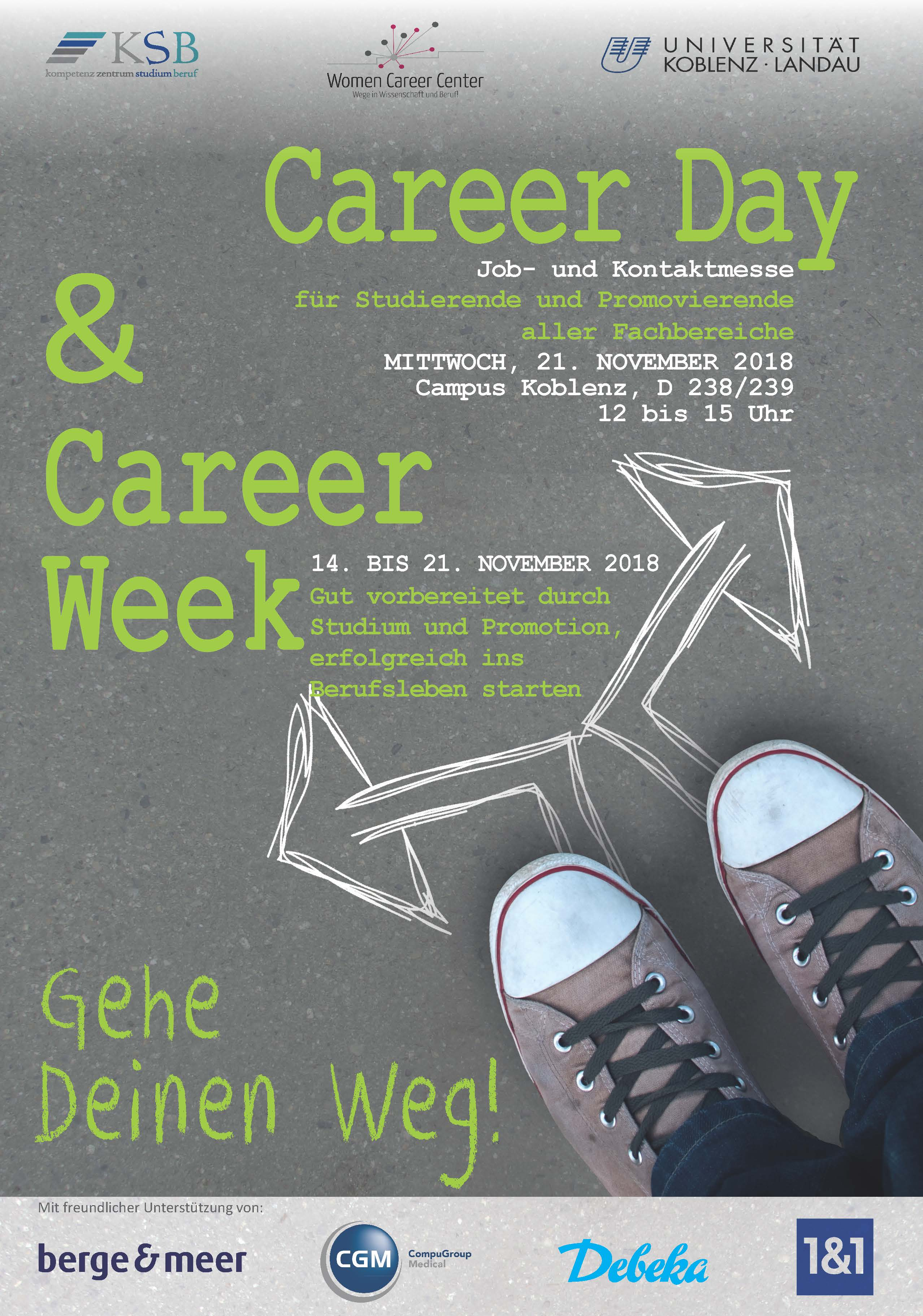 Career day 2018 Plakat