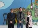 Vizepräsident Prof. Dr. Wehner besucht die Landkreise der Region Koblenz