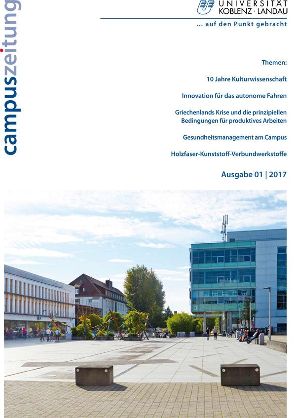 Titelbild Campuszeitung Ausgabe 1/2017