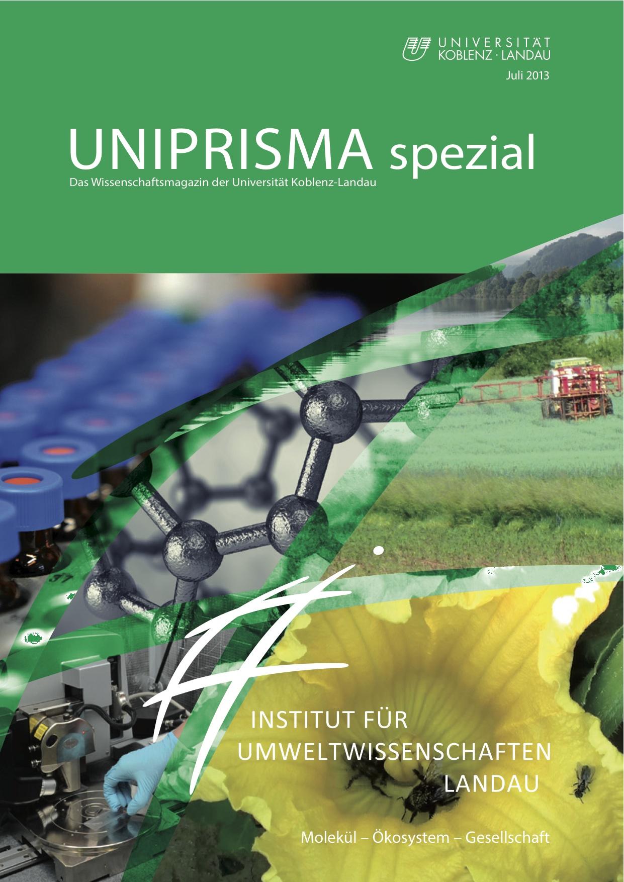 UNIPRISMA spezial - Deckblatt Juli 2013