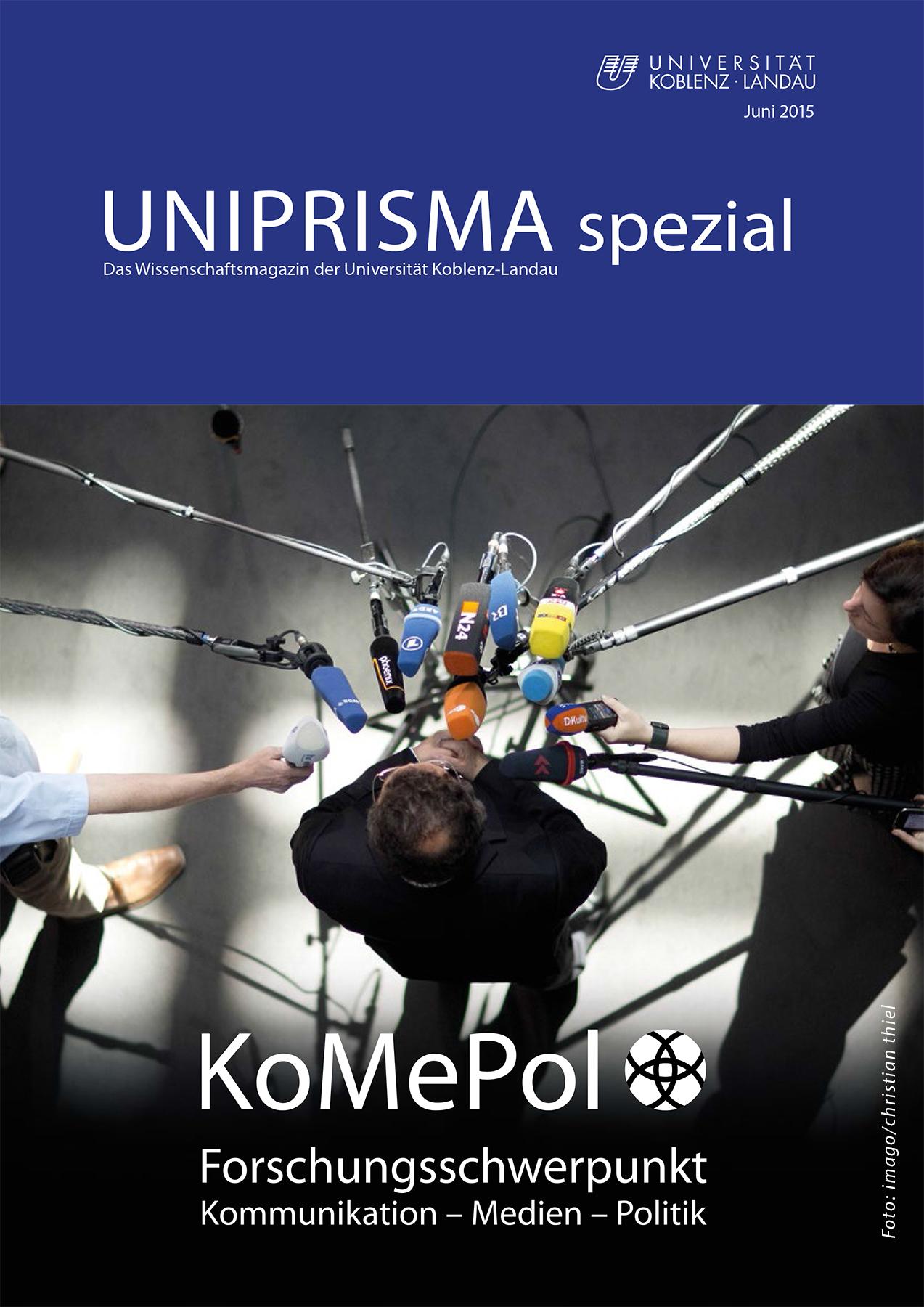 UNIPRISMA spezial - Deckblatt Juni 2015