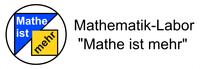 """Mathematik-Labor """"Mathe ist mehr"""" Logo"""