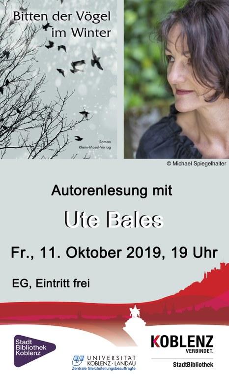 Autorenlesung Ute Bales