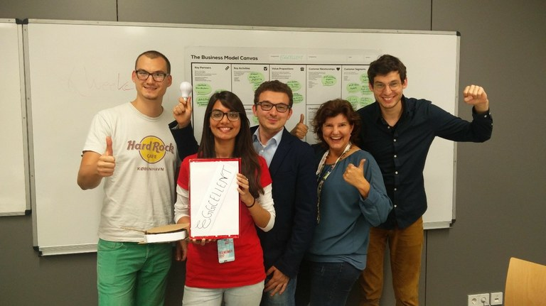 Startup Weekend 2017 in Koblenz – 2. Platz für internationale Studierende der Uni in Koblenz