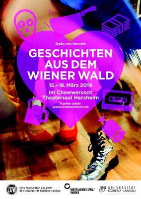 Geschichten aus dem Wienerwald Plakat