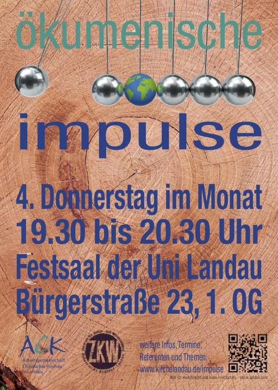 Oekumenische Impulse Plakat 1