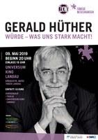 Plakat Gerhard Hüter