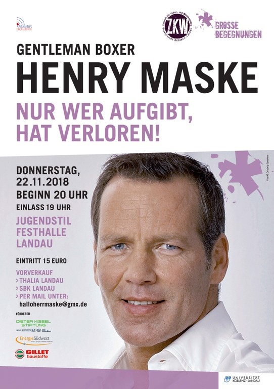 Plakat Maske