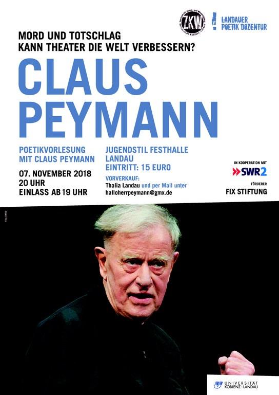Plakat Peymann