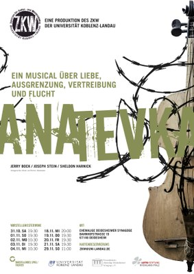 Plakat Anatevka