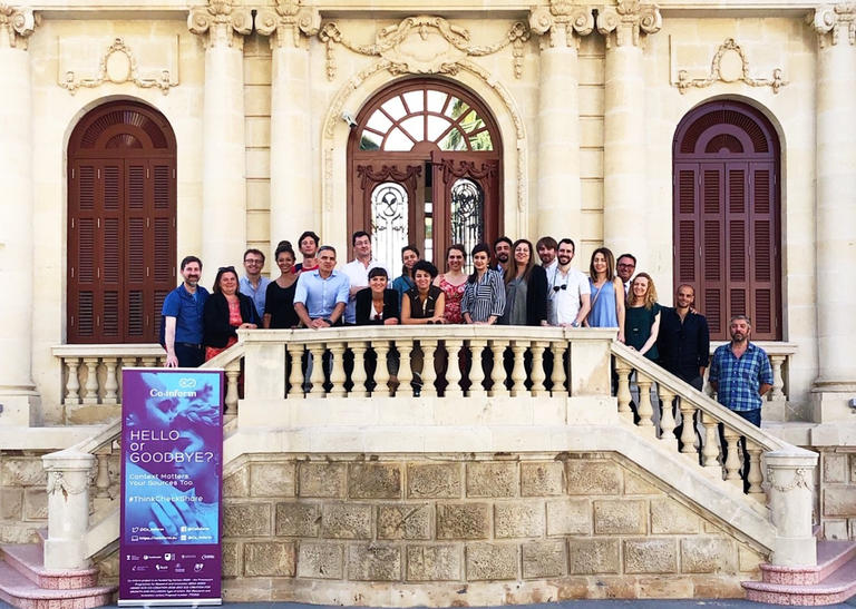 EU Project Co-inform review meeting in Limassol