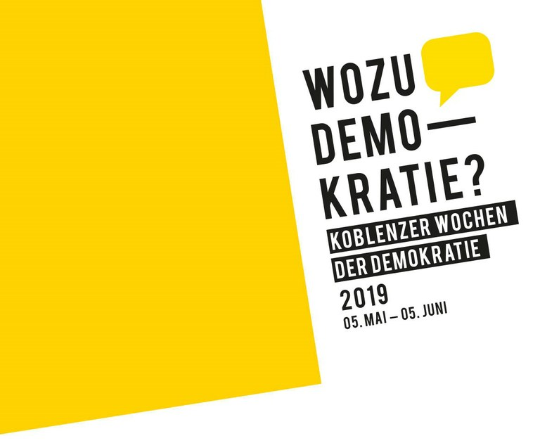 Panel Discussion @ Koblenz Weeks of Democracy