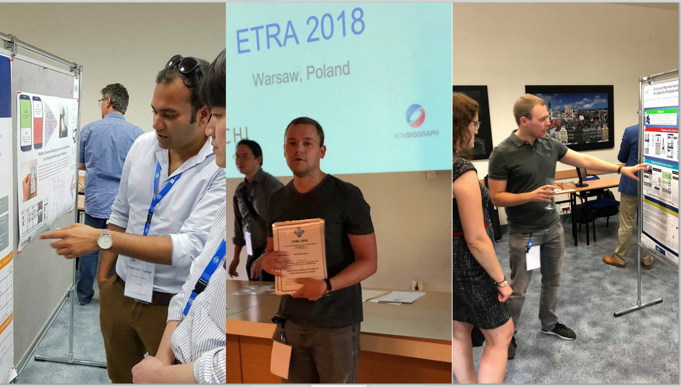Award for Best Video at the International Eye Tracking Conference ETRA in Warsaw