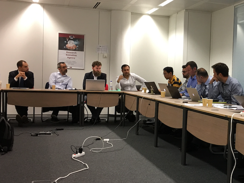 EU Project CUTLER: Successful first review meeting in Brussels