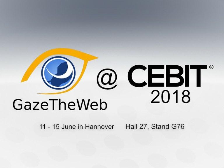 GazeTheWeb @ CEBIT