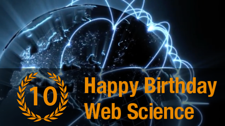 Happy Birthday Web Science! Watch the Live Web Science TV Channel on Tuesday, 29th November