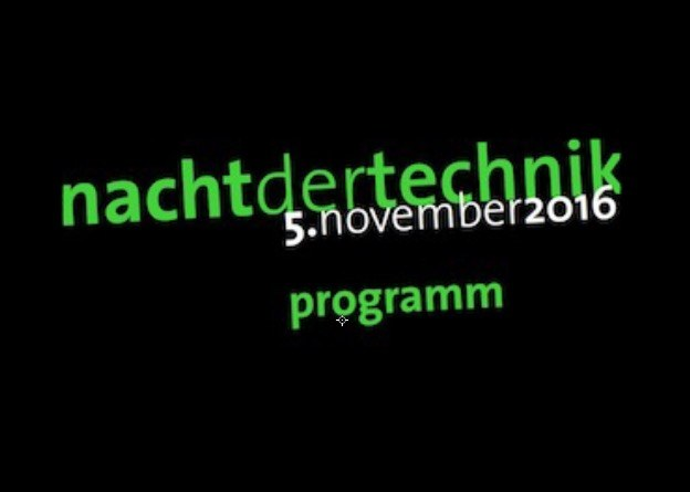 The Faculty of Computer Science from Koblenz University at the Night of Technology on 5th November