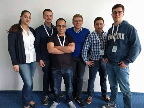 Web Science student Aemal Sayer wins first prize at Startup Weekend Koblenz