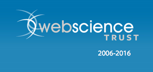 Get the Web Science Trust brochure and celebrate 10 years of Web Science!