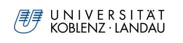 Logo Universität Koblenz Landau