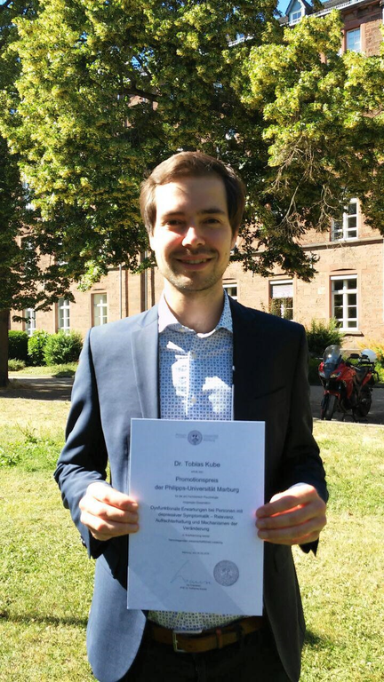 Tobi wins PhD award