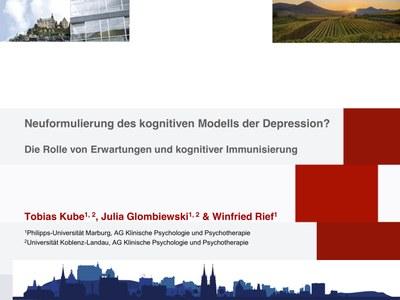 Presentation by Tobias Kube on the DGPs Fachgruppentagung in Landau - Deckblatt