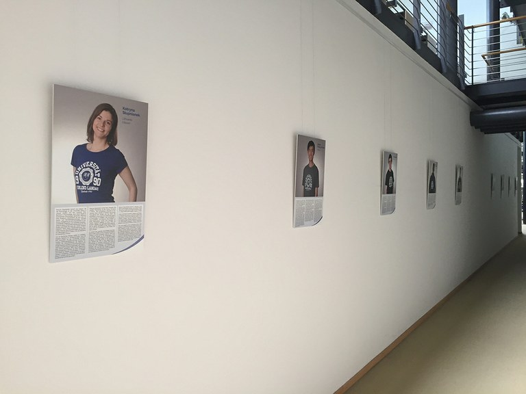 """Exhibition """"University of Koblenz-Landau Goes International"""" opened"""
