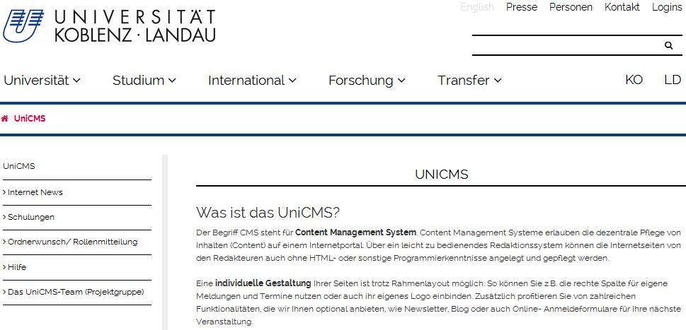 Website (CMS)