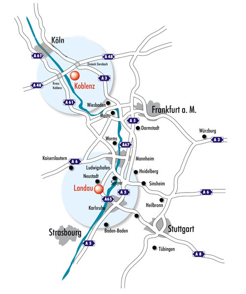 Heidelberg University Campus Map.Profile University Of Koblenz Landau